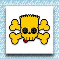 BART SIMPSON SCULL